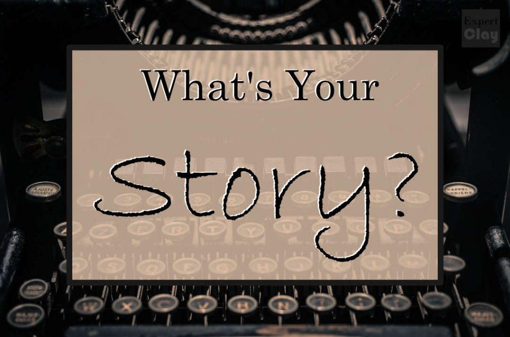 ما هي قصتك؟