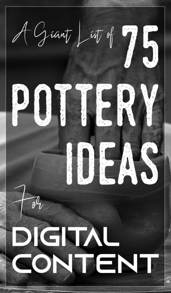 75 فكرة فخار لصورة عمودية للمحتوى الرقمي